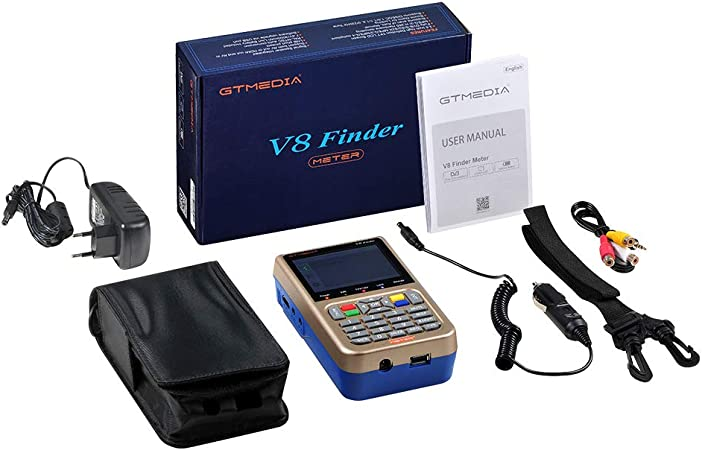 V-73HD Ocamo GTMEDIA V8 Finder Meter DVB-S2/S2X Digital Satellite ...