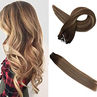 Best balayage hair extensions sew in Reviews