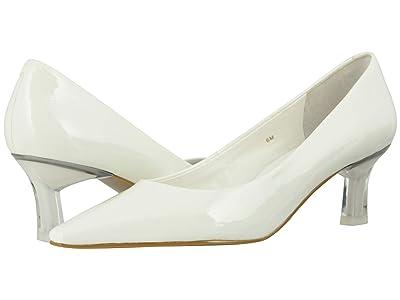 Vaneli Sada (White Wrinkle Patent) Women