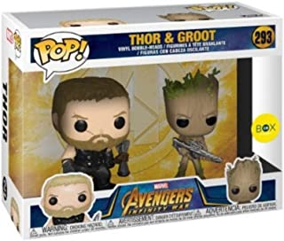 Funko Pop! Marvel: Avengers Infinity War - Thor & Groot (Limited Exclusive) #293