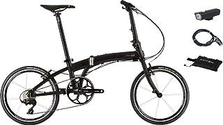 DAHON(ダホン) Mu SLX(ミュー エスエルエックス) 20インチ フォールディングバイク +フロントライト、ロングワイヤー錠、スリップバッグ