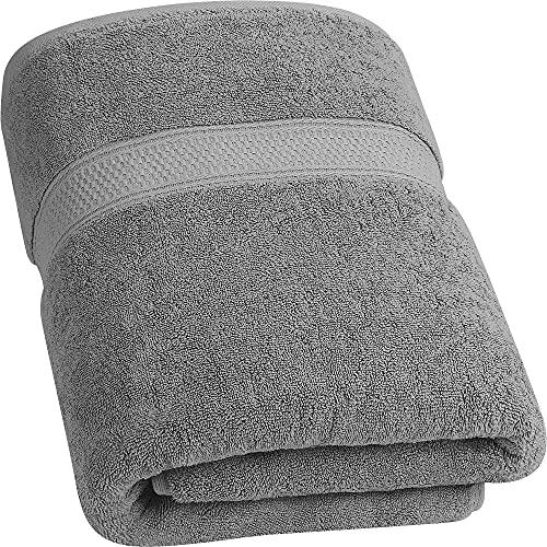 Utopia Towels - 700 gsm Toallas de baño de algodón (90 x 180 cm) Hoja de baño hogar, los baños, la Piscina y el Gimnasio Algodón de Anillos (Gris)