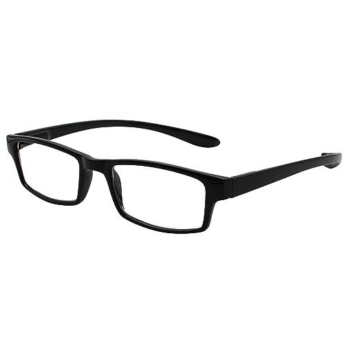9d0e9442d3 TBOC Gafas de Lectura Presbicia Vista Cansada – Graduadas +3.00 Dioptrías  Montura de Pasta Negra