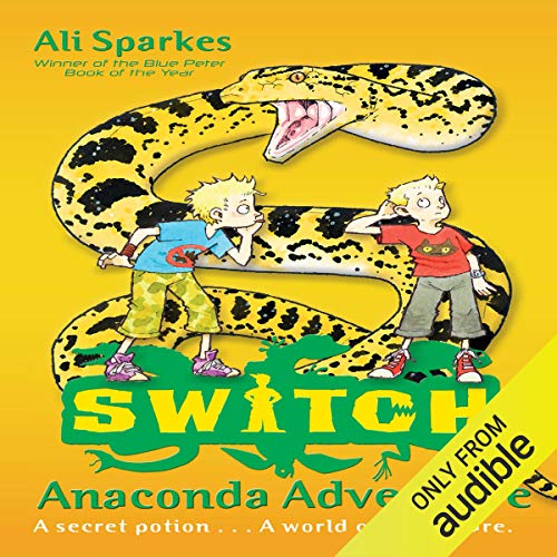 Couverture de Anaconda Adventure