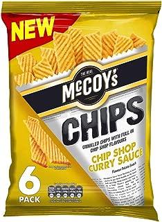 mccoys chip shop curry crisps