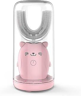 Elektryczna szczoteczka do zębów dla dzieci Czystość 360 °, wodoodporność IPX7, 3 tryby, łatwa zmiana biegów, silikonowa g...