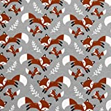 MAGAM-Stoffe Fuchs-Mich Jersey Kinder Stoff Oeko-Tex