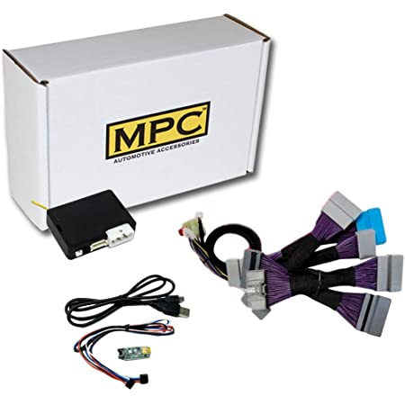 MPC Plug-n-Play Factory Remote Activated Remote Start Kit for 2014-2015 Honda Civic T-Harness w//FlashLink Updater
