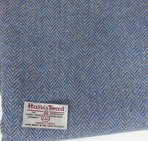 Authentic Harris Tweed Stoff 100% reine Wolle mit Etiketten.. 75cm x 50cm –-Nr. nov35–--...