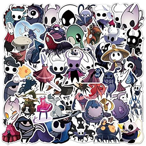 XIANYING Pegatina de Anime para portátil, refrigerador, teléfono, monopatín, Maleta, Pegatina de Guitarra, 50 Piezas