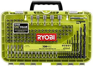 RYOBI Black Oxide Drill and Drive Kit (120-Piece) ASSORTMENT