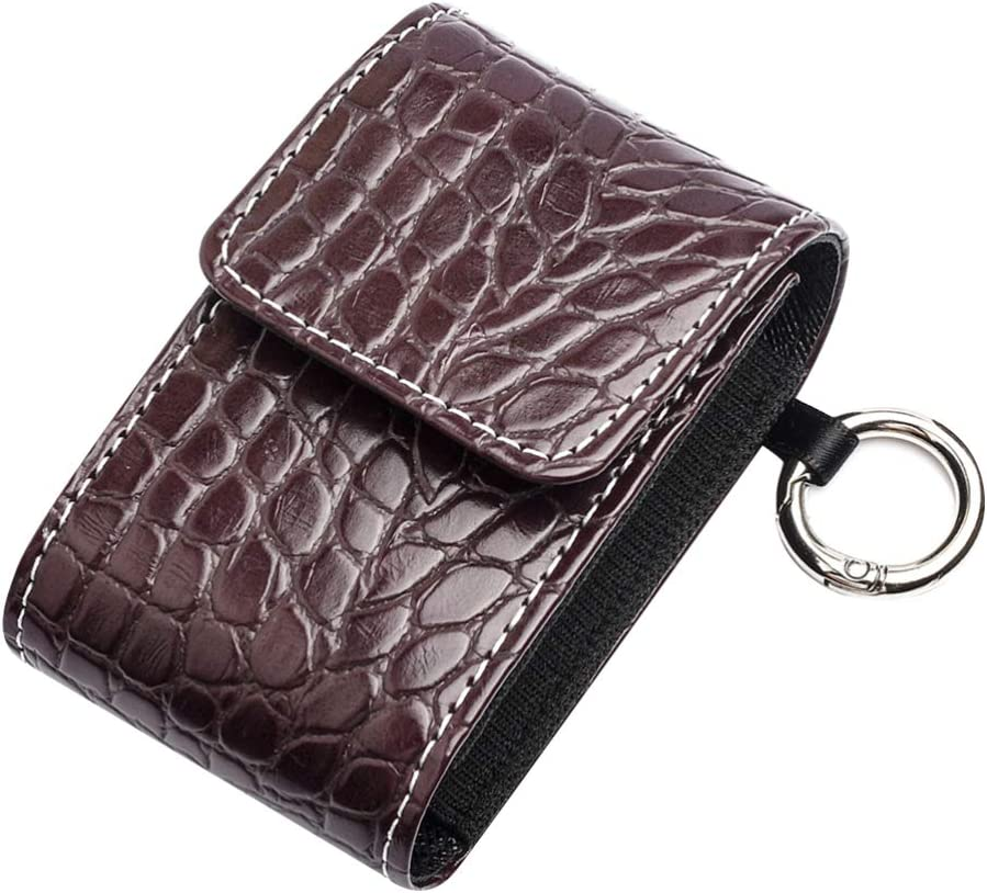 Healifty Fingertip 70% OFF Outlet Pulse Carrying Case Belt Pocket Pouch Leather Regular store