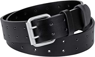 double hole belt men's