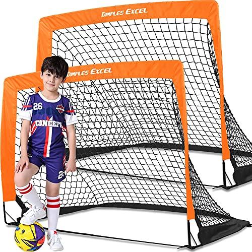 サッカーゴール 折りたたみ 室内 室外 子供用 大人用 2個セット