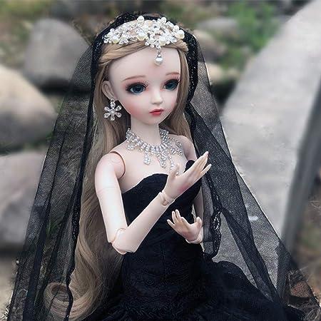 6inch Flexible 1//12 BJD Doll Body Princess DIY Replacements Birthday Gift Toy