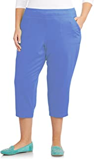 JUST MY SIZE French Terry Women's Pocket Capri Pants