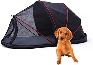 Hillwest Dog Houses Dog Tent, Foldable Portable Outdoor Camping Domed Dog House, Comfortable Shelter Travel Pet Bed, Perfect Design for Your Dog Cat Rabbit