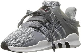 adidas Originals Boys' EQT Support ADV I Sneaker, Tech Grey/White, 8 M US Toddler