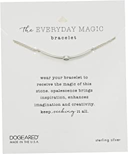 The Everyday Magic Bracelet, Opalescence Gem Bar On Chain