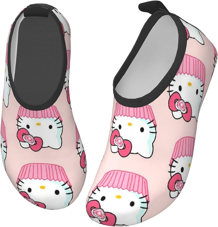 Hello Kitty Toddler Kids Water Shoes Non-Slip Quick Dry Barefoot Aqua Socks Beach Swimming Surf Walking for Boys Girls