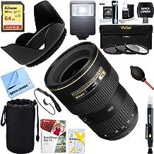 Nikon (2182 16-35mm f/4G ED-VR AF-S Wide-Angle Zoom Lens + 64GB Ultimate Filter & Flash Photography Bundle