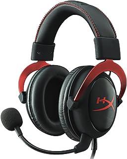 キングストン HyperX ゲーミングヘッドセット Cloud II KHX-HSCP-RD レッド/ブラック 7.1バーチャルサラウンドサウンド対応 USBオーディオコントロールボックス付属 PS4/PC/Xbox/Switch/スマホ 2年保証