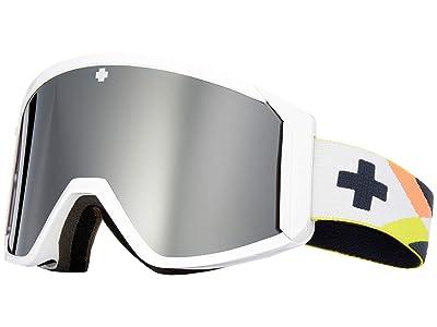 Spy Optic Raider (Arcade/Gray Green/Black Spectra Mirror/Persimmon) Snow Goggles