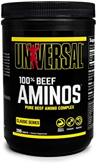 Universal Nutrition Percent Beef Amino, 200 Tablets