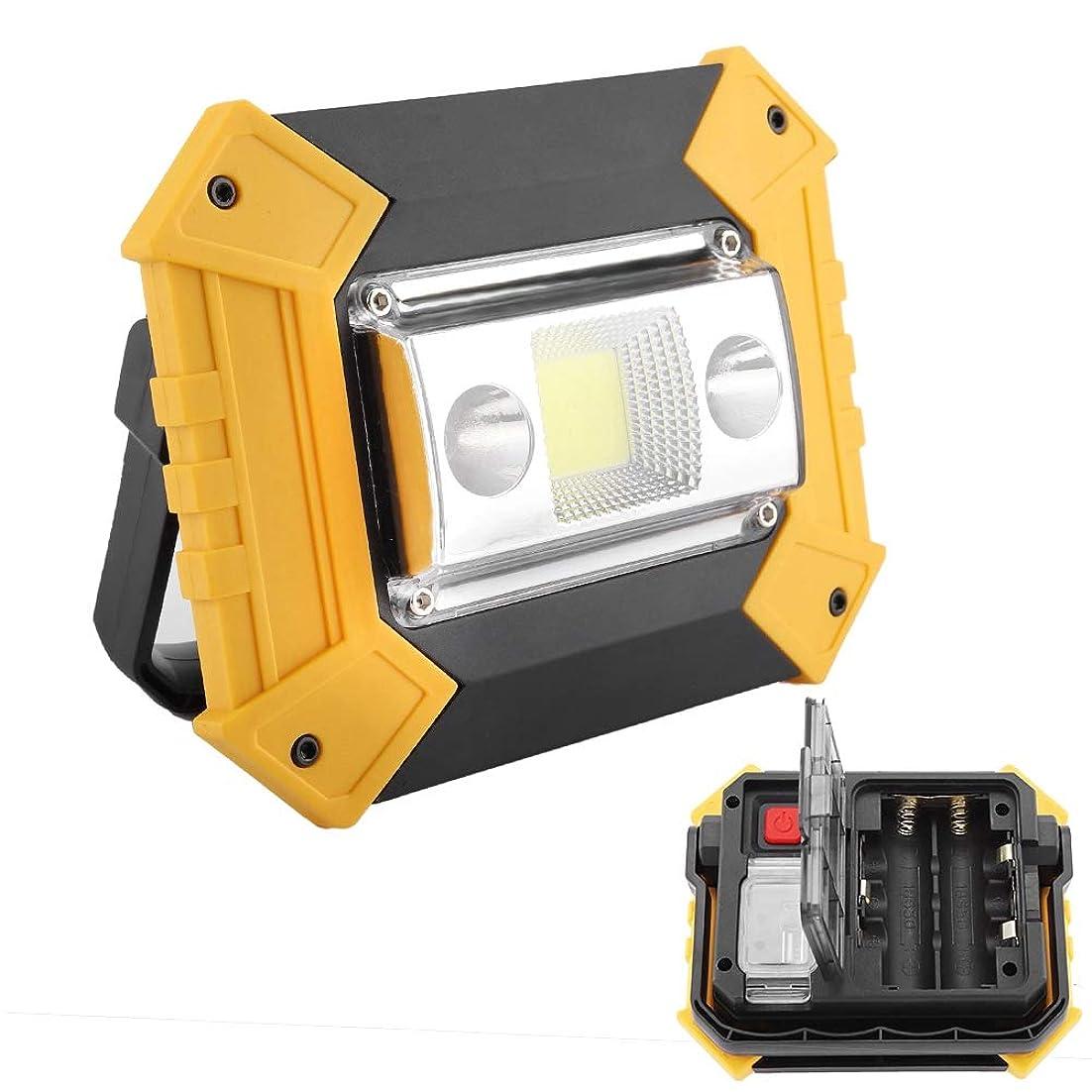 賛美歌ごめんなさいタイムリーなCOBワークライト、高輝度COBワークライトUSB充電LED警告ランプハンドヘルド懐中電灯屋外キャンプ用緊急LEDライト