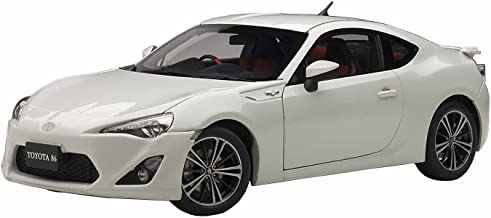 AUTOart 1/18 Toyota 86 GT Limited (Japan specification / right-hand drive) (Satin White Pearl) (japan import)