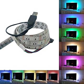 5050 Bright Led 1M USB Led Strip Lights Tv Back Light Color Changing MR