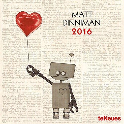 2016 Matt Dinniman Mini Wall Calendar