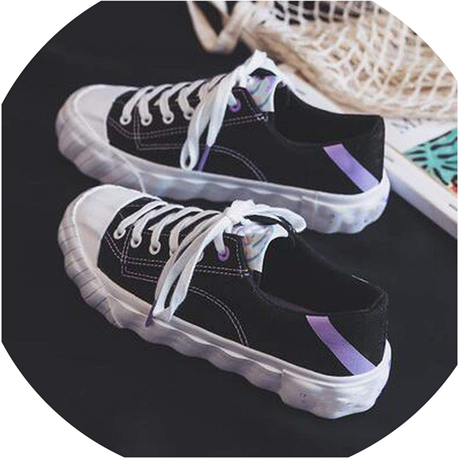Biu-biu fashion-sneakers Breathable Leopard Casual Women Vulcanize shoes Lace Up Candy colors Ladies Canvas shoes