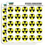 Radioactive Nuclear Warning Symbol 1