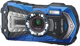 RICOH Waterproof digital camera RICOH WG-40 Blue (Japan Import-No Warranty)