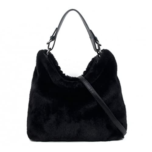 db2626ee5497 LeahWard Women s Faux Fur Handbags Quality Designer Tote Bags For Women  Holiday 0433