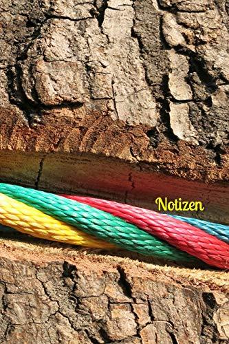 Notizen: Baum Baumrinde Seil Tau Klettern spielen wandern Wanderer Kletterer Kletterseil Tauziehen Sport Spiel Natur