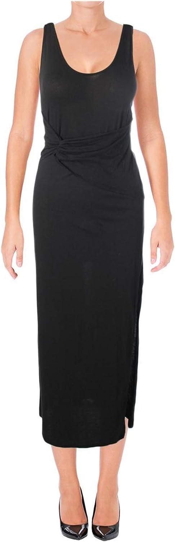 Rachel Roy Womens Front Tie Maxi Dress