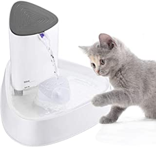 3L Cat Water Fountain Automatic Pet Water Fountain Ultra Quiet Pet Water Dispenser with LED Light And Adjustable Wate. KKGGS