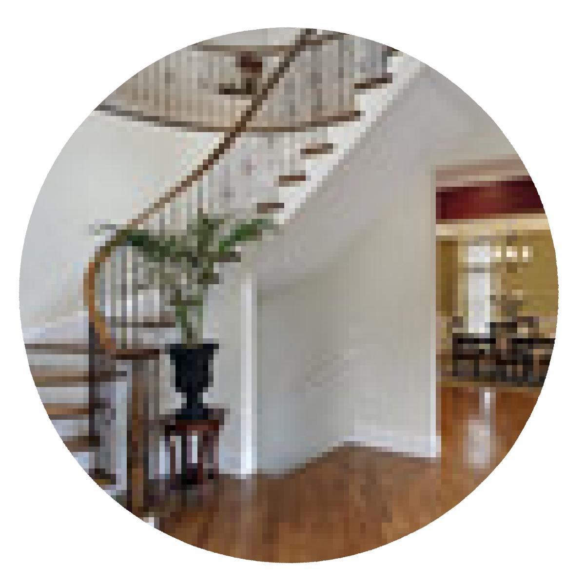 alfombrilla de ratón Salón en la casa de lujo con escalera de caracol: Amazon.es: Electrónica