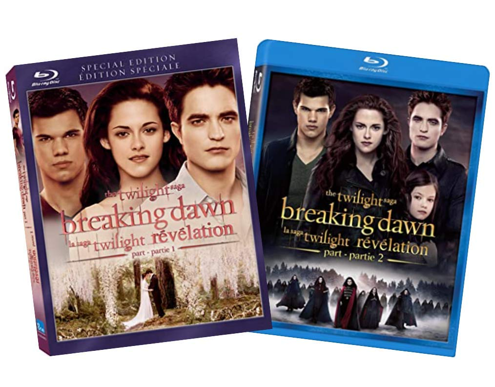 Buy The Twilight Saga The Complete Breaking Dawn Blu Ray Collection Breaking Dawn Part 1 And Breaking Dawn Part 2 Bluray Online In Vietnam B08mz5f993