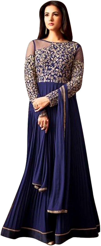 Bollywood Festival Collection Anarkali Salwar Kameez Suit Ceremony Punjabi Muslin Eid 562 3