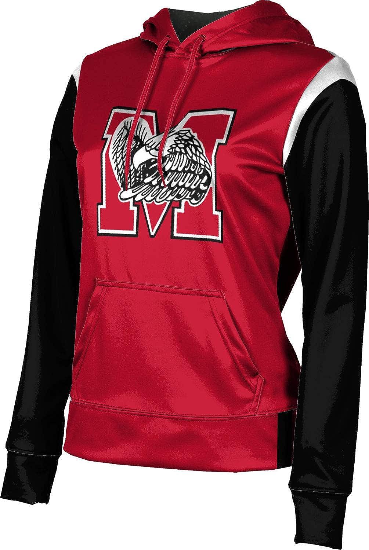 ProSphere Milford High School Girls' Pullover Hoodie, School Spirit Sweatshirt (Tailgate)