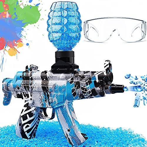 Electric Gel Ball Blaster Toy, Splatter Ball Gun, MP-5 Gel Ball Blaster, Gel Gun for Outdoor...