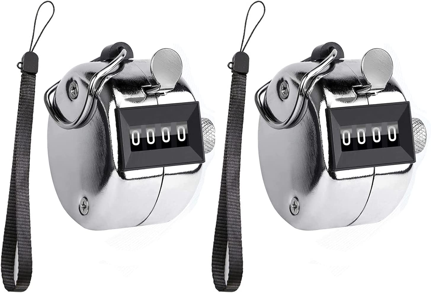 ZRAMO low-pricing Metal Hand 4-Digit Tally Counter Dig Clicker Palm Regular dealer