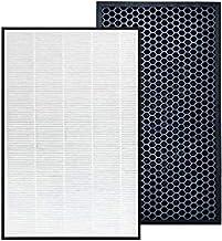 Reemplazo para el modelo de filtros FY2422 / 2420, filtro True HEPA y filtro de carbón activado 1 juego, compatible con el...