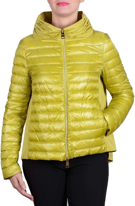 Herno Women's PI0927D120173600 Yellow Polyamide Down Jacket