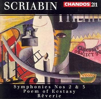 Scriabin: Poem of Ecstasy / Symphonies Nos. 2 and 3 / Reverie