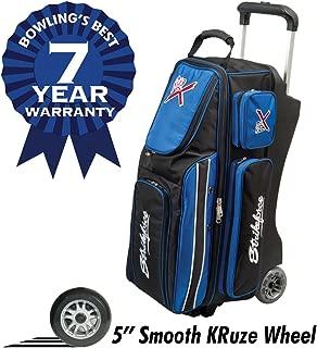 KR Strikeforce Royal Flush Triple Roller Bowling Bag