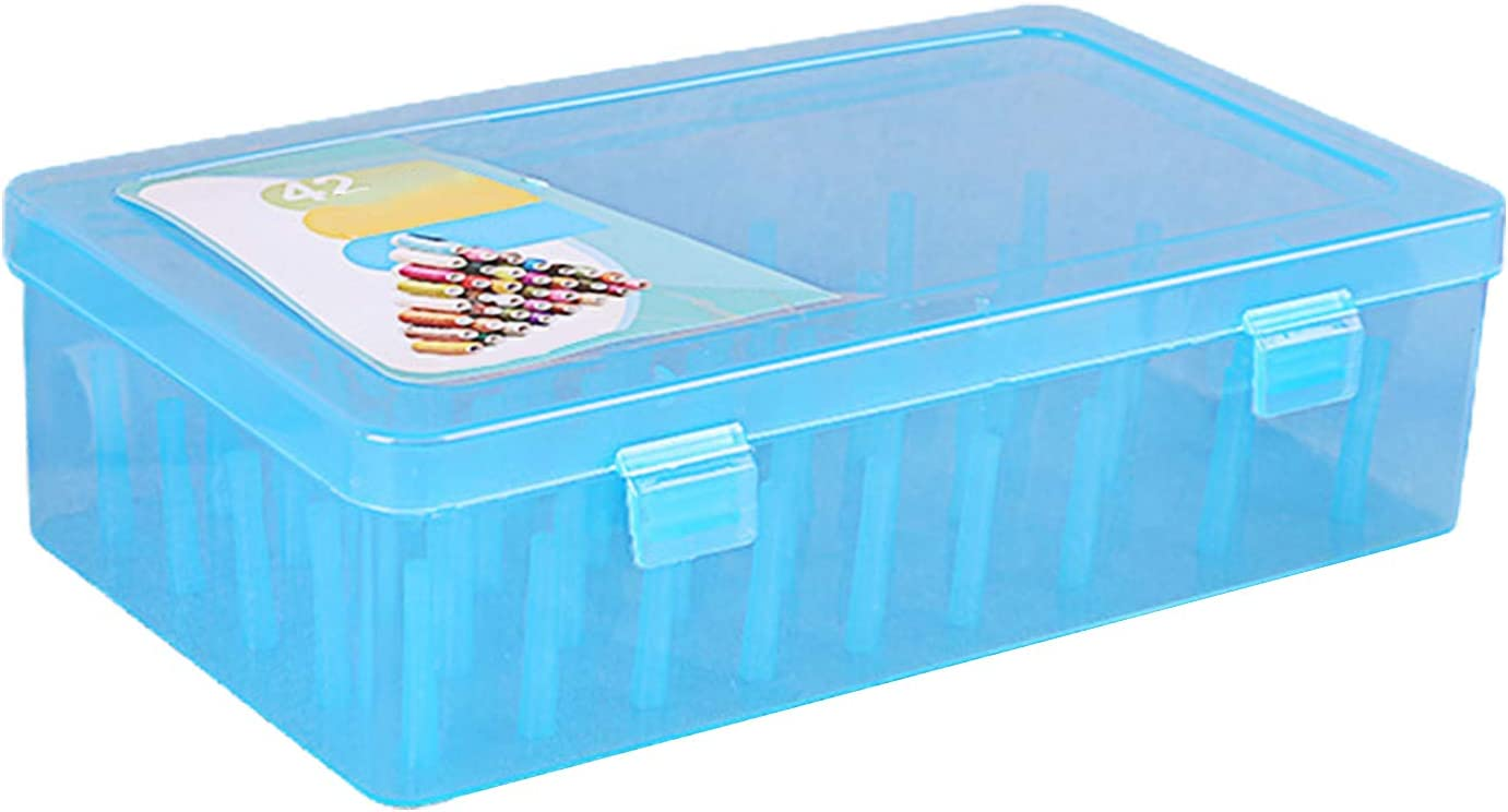 Bluelanss Quantity limited Sewing Thread In stock Box 42 Storage Spool